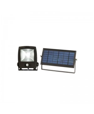 LED Flood Light, 10W, Solar Charge, Movement Sensor