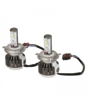H4 Hi/Lo Cree LED Powered Headlamp Kit