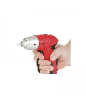 CLEARANCE:Screwdriver Electric with 102 Bits and Mains Charger TD2491