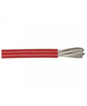 RED 4GA OFC Super High Current Power Cable, 50m Roll WH3064