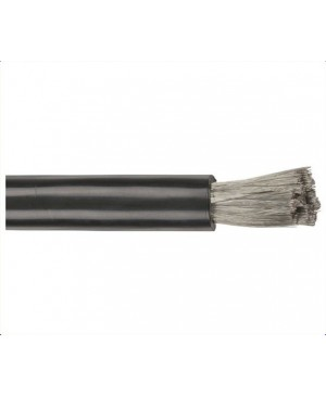 0GA Mega High Current OFC Cable - Black, 25m Roll