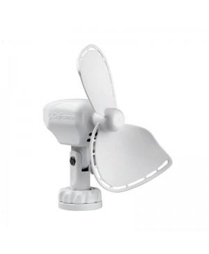 Ultimate Cabin Fan 178mm 12VDC w Cig Lead White