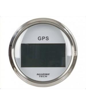 GPS Speedometer Gauge, COG 100mm White