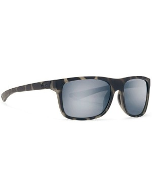 Costa Remora Sunglasses, Shark Frame, 580G Silver Grey Mirror Lens REM 140 OSGP