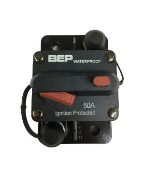 BEP 50A Waterproof Panel Mount Circuit Breaker, Manual Disconnect MMC058 114049