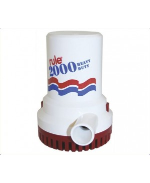 Rule Heavy Duty Bilge Pump, 2000 GPH 12V MPA130