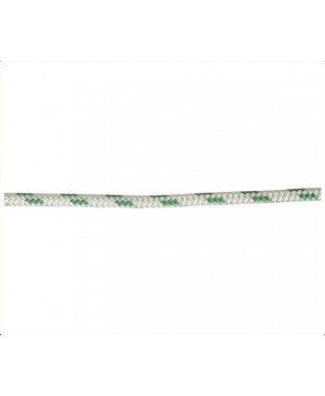 Double Braid-Polyest.Rope,8mm,Green Fleck,Euro,100m Roll MRC110
