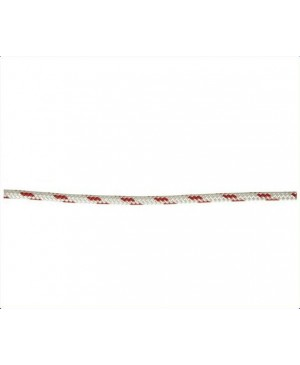 Double Braid-Polyester Rope,8mm,Red Fleck,Euro,100m Roll