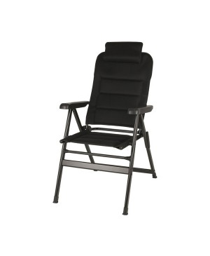 Black Folding Camping Chair with Removable Pillow RAC092