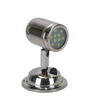 Personal Reading Light - Stainless Steel Reading Lamp TLA015
