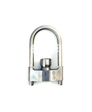 Kovix 10cm Stainless Steel U-Bar Coupling Lock, Alarm IP67 rated KVH-96 TTA702