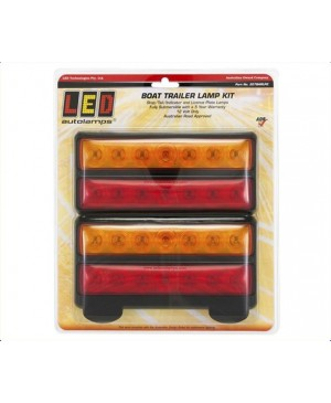 Large Stop/Tail/Turn Light Sets Num Plate Light 20x9cm TTE121
