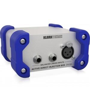 Klark Teknik DN100V2 Active DI Box,Extended Dynamic Range