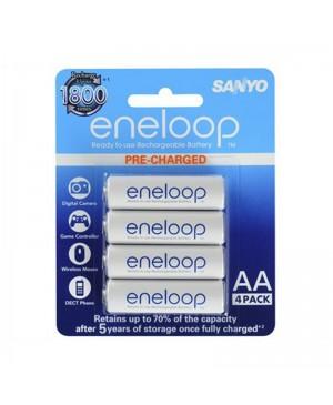 CLEARANCE:Eneloop Ni-MH 1.2V 2000mAH - AA 4 Pack SB2931 BK-3MCCE/4BA