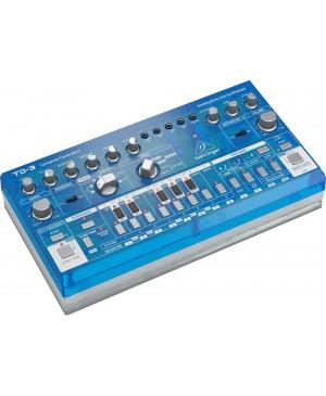 Behringer TD-3-BB Analog Bass Line Synthesizer, VCO, VCF, 16-Step, Blueberry