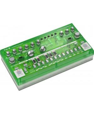 Behringer TD-3-LM Analog Bass Line Synthesizer, VCO, VCF, 16-Step, Lime